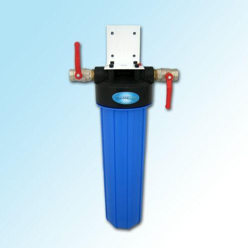 hauswasserfilter single big blue aktivkohlefilter wasserhaus. Black Bedroom Furniture Sets. Home Design Ideas