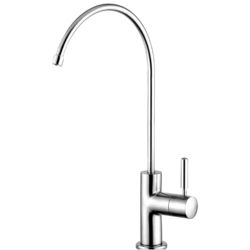 DESIGN faucet for filtered water, stainless steel
