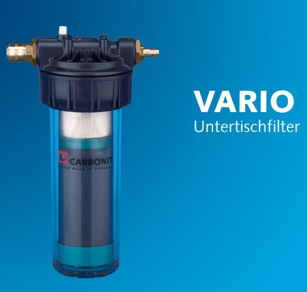 carbonit vario-küche aktivkohlefilter - wasserhaus - Wasserfilter Küche