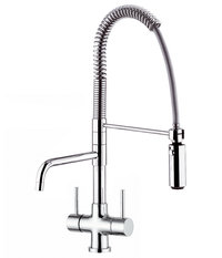 3-way faucet WASHINGTON chrome polished