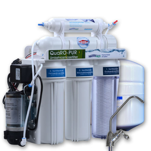 QUARO PUR POWER Reverse Osmosis with Boosterpump