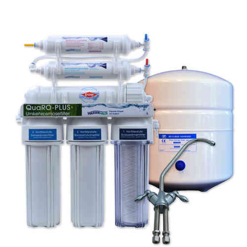 QUARO PLUS Reverse Osmosis System with mineralizing cartridge