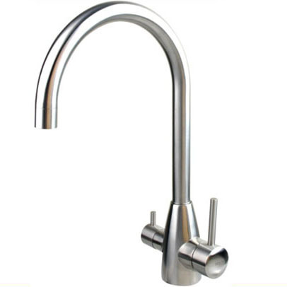Faucet 3 in 1 TORONTO Stainless Steel