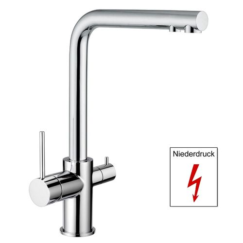 3-Way Kitchen Faucet DAKOTA ND for low pressure