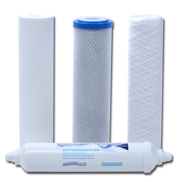 Ersatzfilterset-Quaro-PUR-Osmoseanlage
